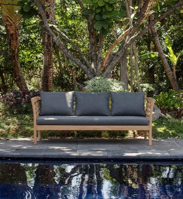 Teak Chairs & Daybed
